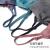 YUZHAOLIIN【2つの服】ブラジャ女運動イナワイ、胸を寄せて衝撃に耐えられる形が見られない日系ヨガ睡眠ジョギングイナ女385-2【2つの服】灰色+青L