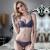 迪万寄せブラジャ2019春新型欧米セクレ-スブラ女史小さい胸深Vインナ-女薄杯DW 1726紫色70 B/32 B
